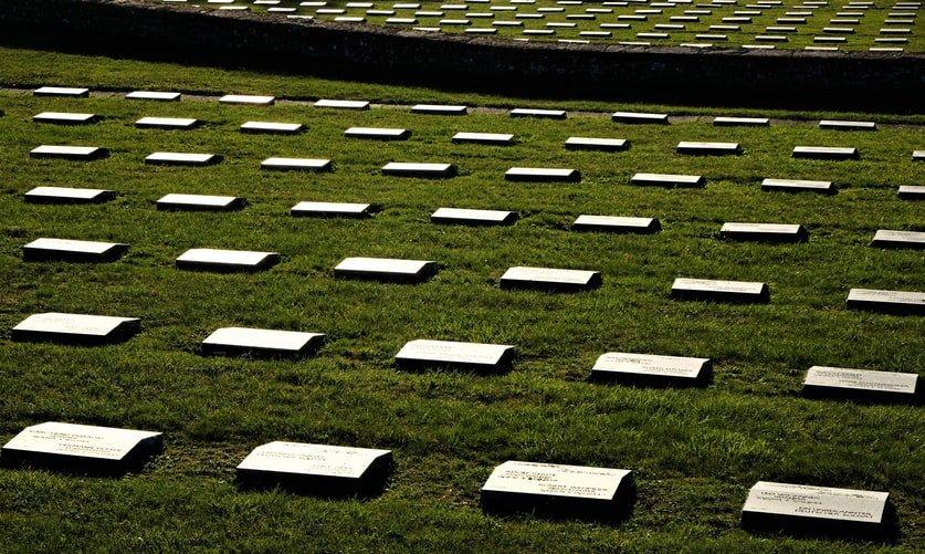 Passo della futa monumento Cimitero Germanico tombe