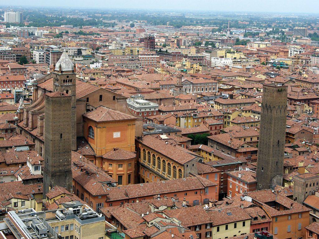 Foto di Bologna dall'alto