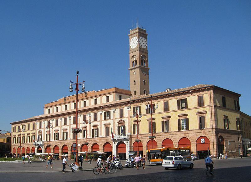 foto del palazzo comunale di Forlì