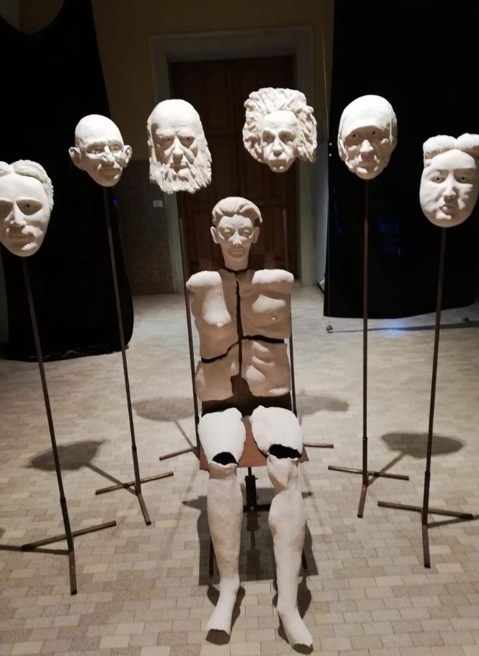 Anna Grossi, dettaglio di opera che partecipa al Premio d'arte Caterina Sforza II edizione organizzato perché l'arte indaghi su come combattere la violenza sulle donne