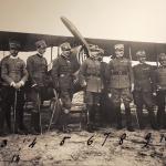 91a squadriglia, foto d'epoca conservata ed esposta presso il museo di Francesco Baracca di Lugo di Romagna