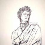 Dante, disegno di Elena Raimondi