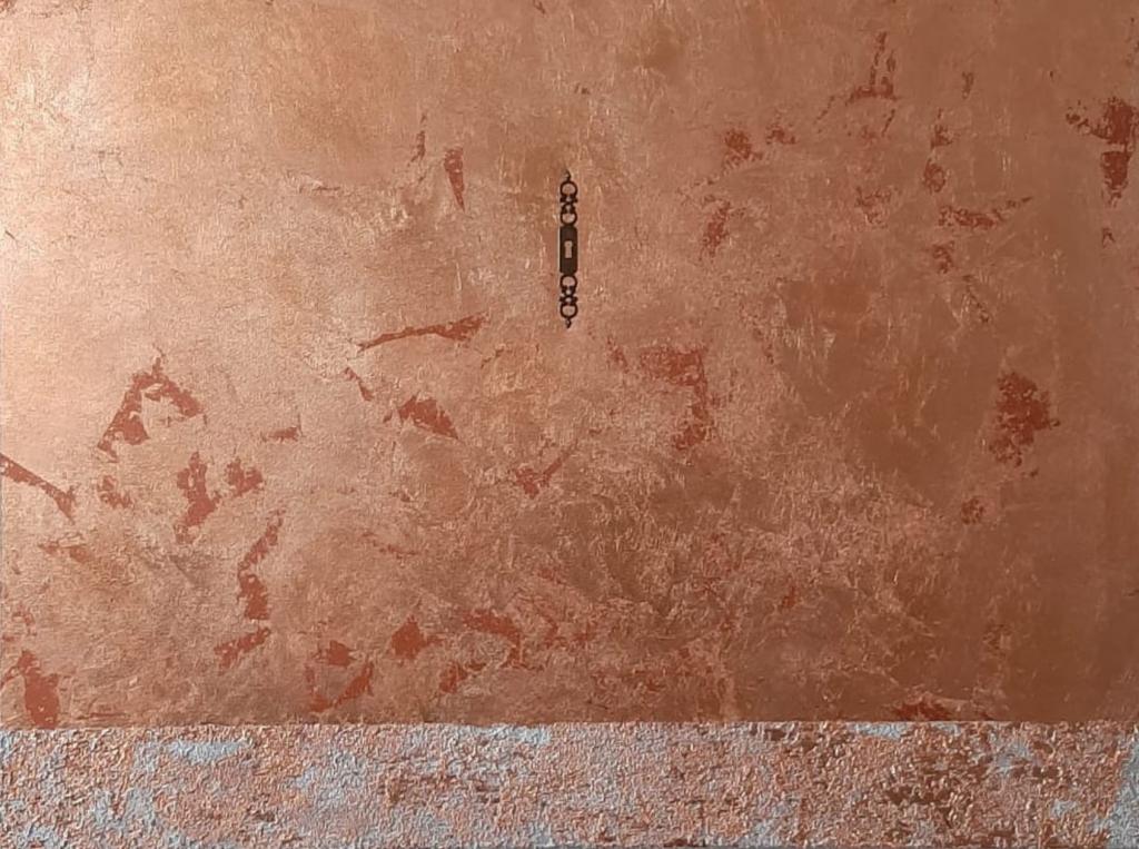 Paola Fabbri dettaglio di opera che partecipa al Premio d'arte Caterina Sforza II edizione