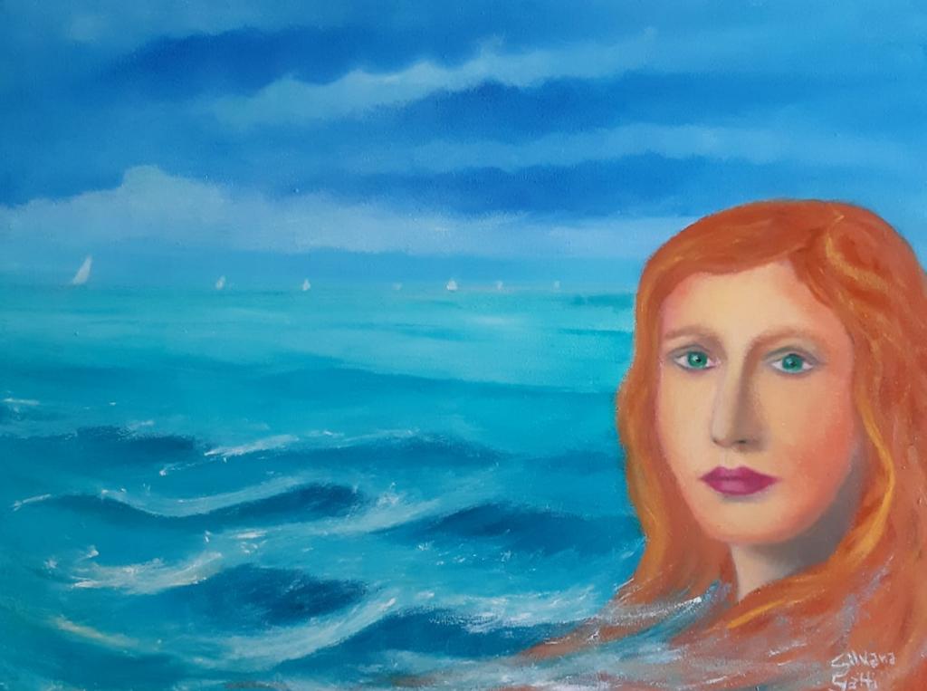 Silvana Gatti, dettaglio di opera che partecipa al Premio d'arte Caterina Sforza II edizione organizzato
