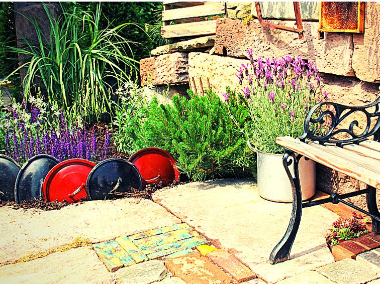 Progetto per giardino di FATA progettista di giardini in Bassa Romagna.