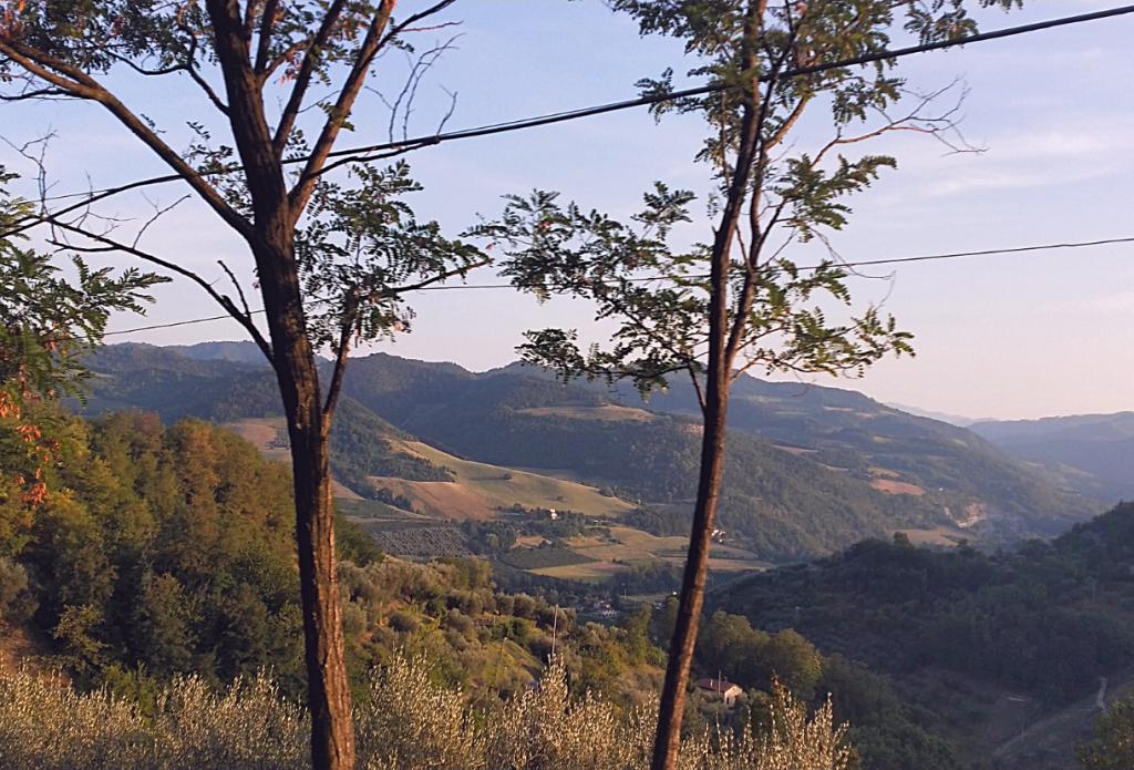 gli itinerari in moto in Emilia Romagna percorrono strade molto panoramiche