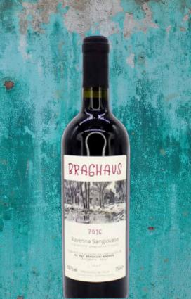 Braghaus di Andrea Bragagni è un vino vivo sangiovese al 100%