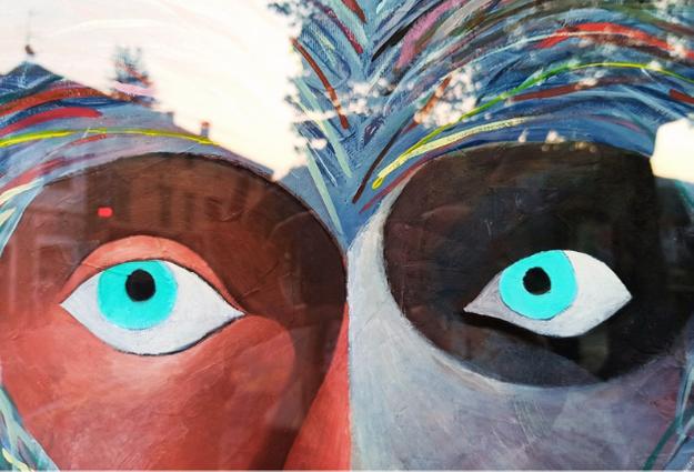 Mostra di Pico alla mini galleria d'arte moderna E50035 che renderà uniche le vacanze di cultura e arte a Palazzuolo sul Senio