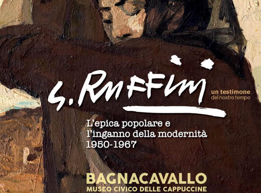 """Centenario di Giulio Ruffini: assolutamente da vedere """"L'epica popolare e l'inganno della modernità 1950-1967"""" in mostra a Bagnacavallo"""