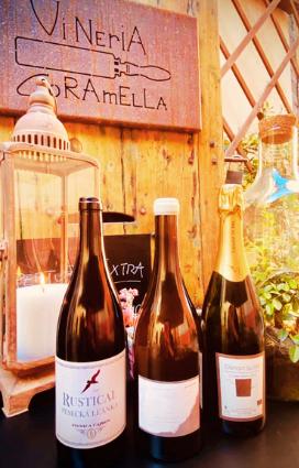 eccellenze gastronomiche di Romagna vini della vena del gesso vino naturale della vineria naturale Coramella