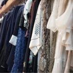 abiti vintage in esposizione al polo del vintage, una delle eccellenze della bassa Romagna