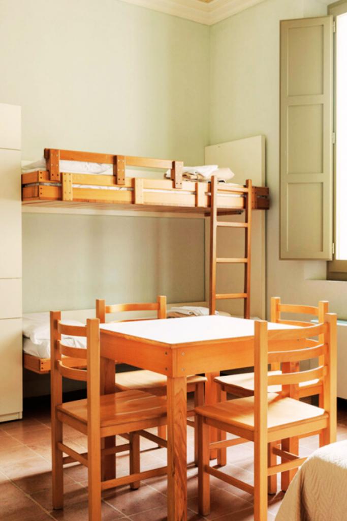 Camera multipla dell'Hotel Antico Convento San Francesco di Bagnacavallo dormire in convento in Bassa Romagna la Bassa Romagna autentica